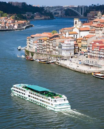 CroisiEurope ship in Porto