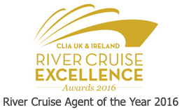 Blue Water Holidays - River Cruise Agent of the Year 2016