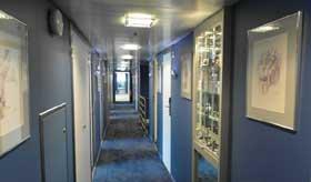 MS Cyrano de Bergerac Corridor
